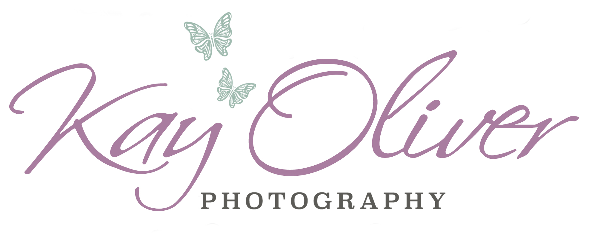 Kay Oliver Photo Butterfly logo